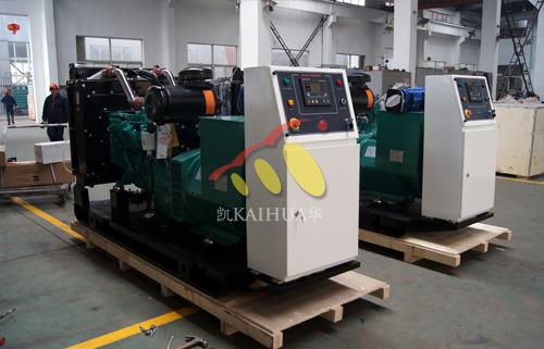 出口安哥拉的两台全自动康明斯机组成功出厂 发货现场 第1张