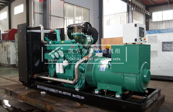 出口越南的300KW玉柴发电机组成功出厂 发货现场