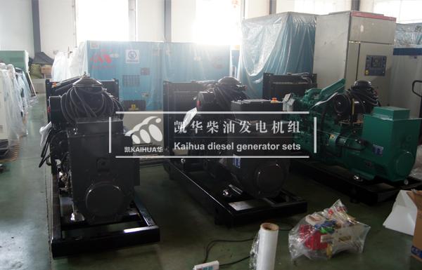 河南公路四台上柴发电机组成功出厂 发货现场 第2张