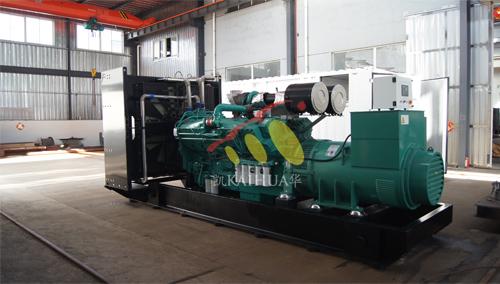 北京数据中心一台1200KW康明斯发电机组成功出厂 发货现场 第1张