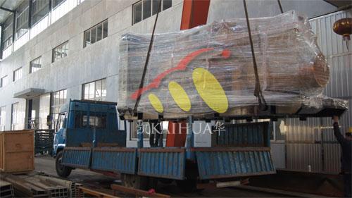 安徽1台1000KW济柴今日成功出厂 发货现场 第2张