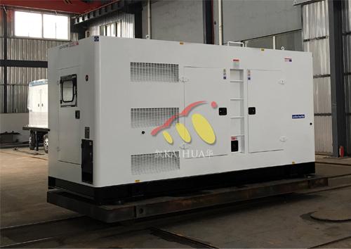 亚洲1台400KW康明斯静音发电机成功出厂 发货现场 第1张