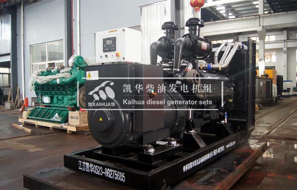 吉林医院500KW上柴柴油发电机组成功出厂 发货现场 第1张