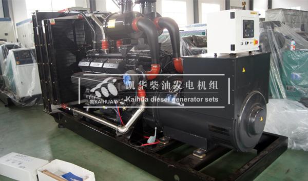 南昌医院500KW上柴柴油发电机组成功出厂 发货现场 第1张