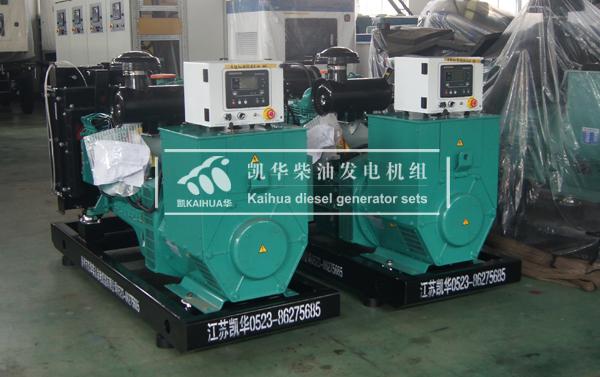 上海消防两台康明斯发电机组成功出厂 发货现场 第1张