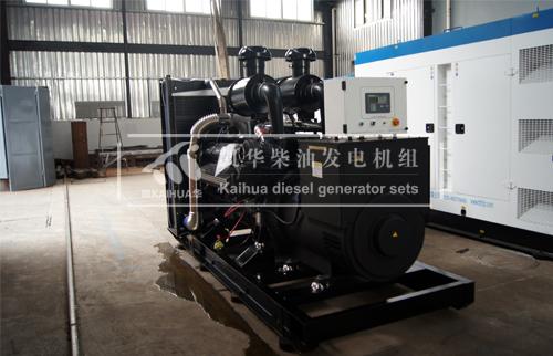 河北安防400KW上柴发电机组成功出厂 发货现场 第1张