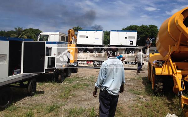 古巴客户的10台静音康明斯发电机组成功交付 国外案例 第2张
