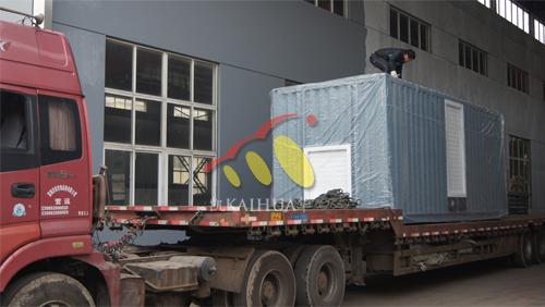 俄罗斯2台保温型康明斯发电机组成功出厂 发货现场 第3张