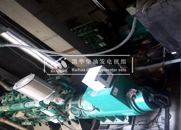 河南数据中心两台800KW玉柴发电机组成功交付 国内案例 第2张