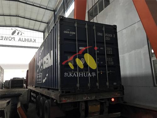 亚洲1台400KW康明斯静音发电机成功出厂 发货现场 第2张