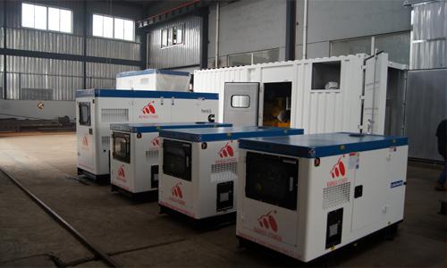 出口菲律宾的四台静音发电机组成功出厂 发货现场 第1张