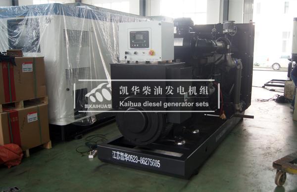 江西电子400KW上柴柴油发电机组成功出厂 发货现场 第2张