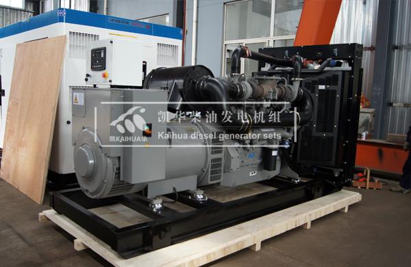 出口马来西亚的500KW珀金斯发电机组成功出厂