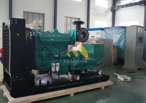 出口越南的400KW康明斯发电机组今日成功出厂 发货现场 第2张