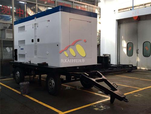 广东200KW康明斯移动拖车正在生产中 公司新闻 第1张