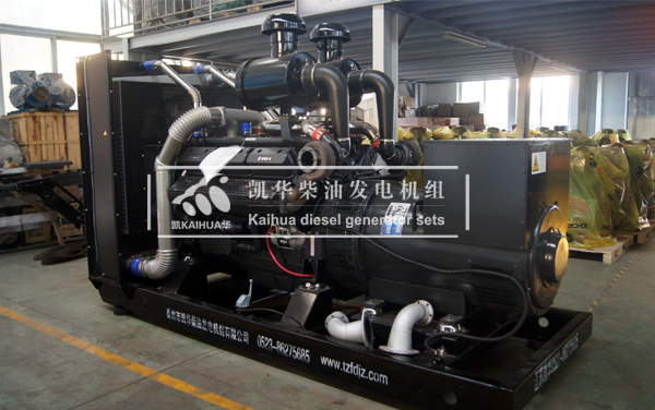 湖南工程500KW全自动发电机组成功出厂 发货现场 第2张