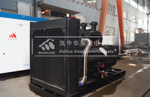 河北安防400KW上柴发电机组成功出厂 发货现场 第2张