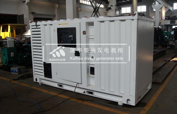 出口新加坡的200KW集装箱式发电机组成功出厂 发货现场 第2张