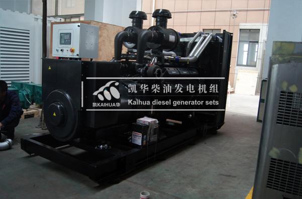 河北化工600KW上柴发电机组成功出厂 发货现场 第2张