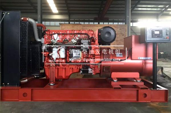 陕西矿业500KW玉柴发电机组成功出厂 发货现场