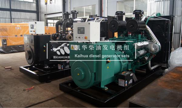 山东煤矿两台500KW上柴发电机组成功出厂 发货现场 第1张