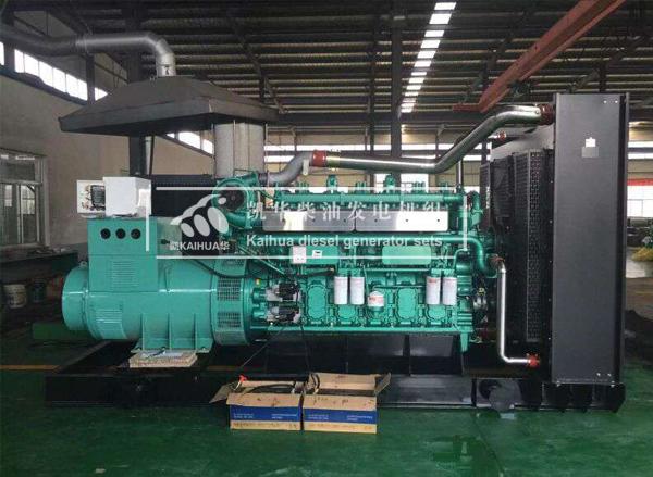 湖南外企600KW玉柴发电机组成功出厂 发货现场
