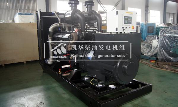 杭州外企500KW上柴发电机组成功出厂 发货现场 第1张