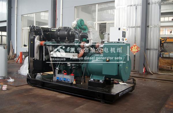 出口新加坡的500KW大宇柴油发电机组成功出厂