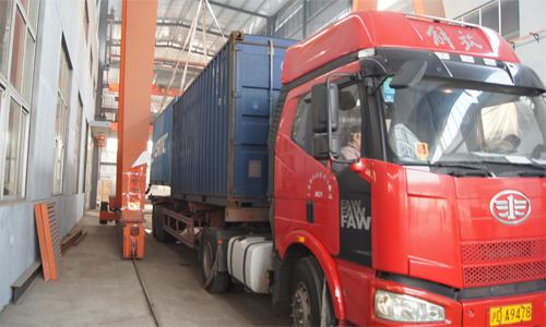 出口菲律宾的四台静音发电机组成功出厂 发货现场 第2张