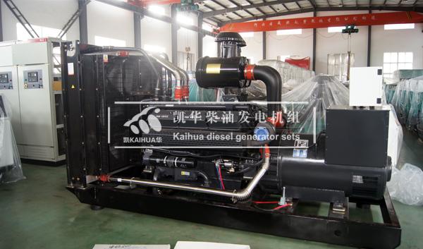 南昌医院500KW上柴柴油发电机组成功出厂 发货现场 第2张