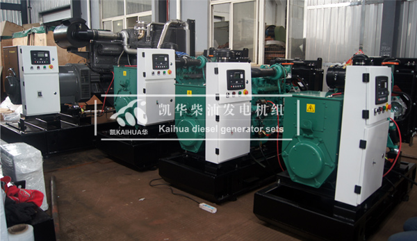 出口安哥拉的4台全自动发电机组成功出厂 发货现场 第1张