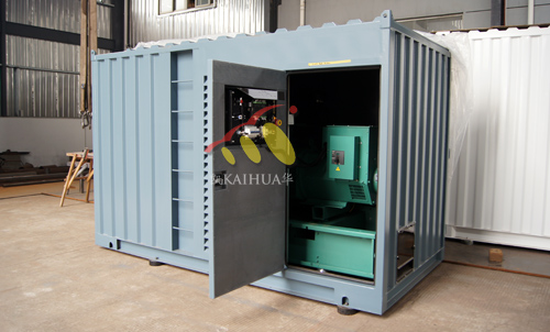 大连政府采购300KW集装箱发电机组成功出厂 发货现场 第1张