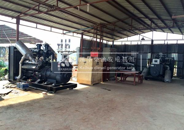 缅甸客户3台500KW柴油发电机组成功交付 国外案例 第2张