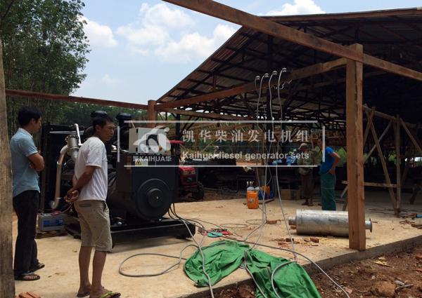 缅甸客户3台500KW柴油发电机组成功交付 国外案例 第1张