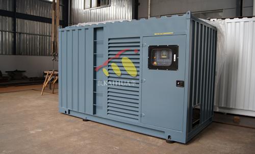 大连政府采购300KW集装箱发电机组成功出厂 发货现场 第2张