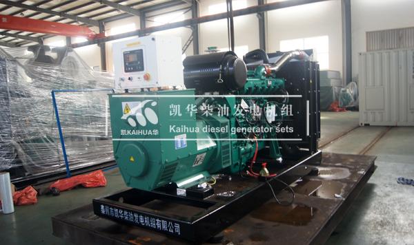 广西学校300KW玉柴发电机组成功出厂