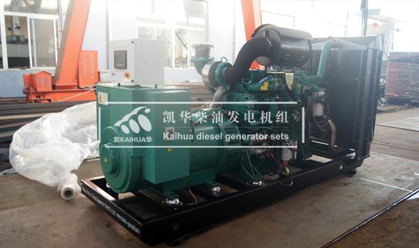 哈尔滨林业400KW玉柴发电机组成功出厂