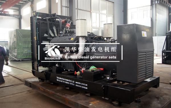 出口安哥拉的500KW奔驰发电机组成功出厂