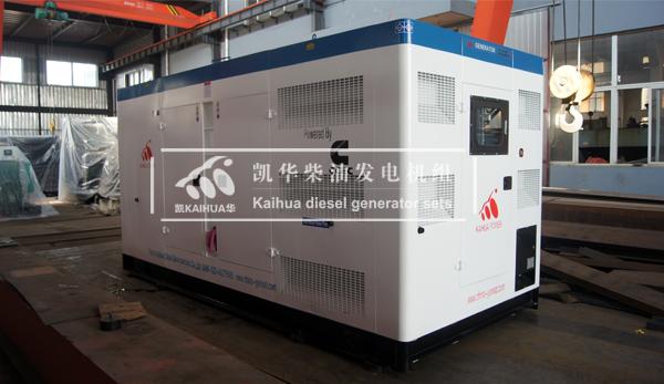 出口苏丹的400KW康明斯发电机组成功出厂