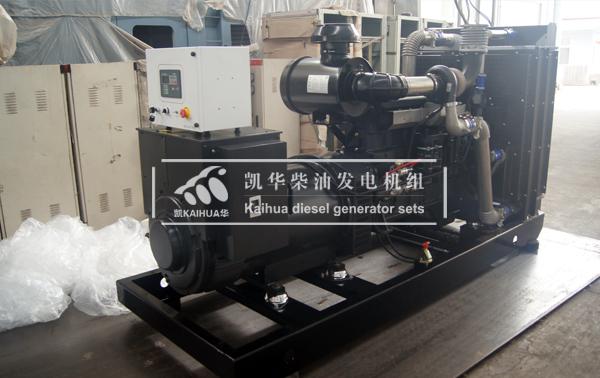 郑州学校300KW上柴发电机组成功出厂