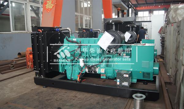 内蒙古市政4台康明斯发电机组成功出厂