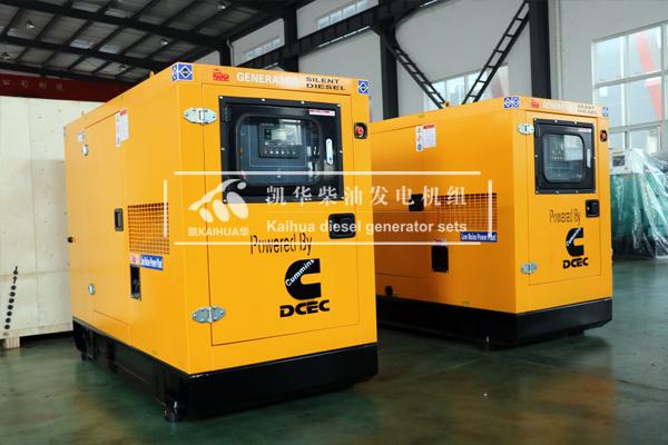出口新加坡的两台50KW静音发电机组成功出厂 发货现场 第2张