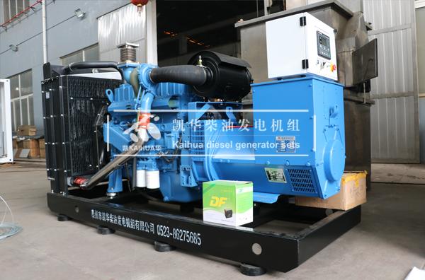 上海学校200KW玉柴发电机组成功出厂