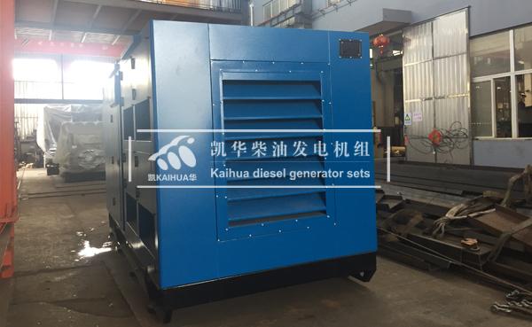 江苏石油500KW燃气发电机组成功出厂 发货现场 第2张