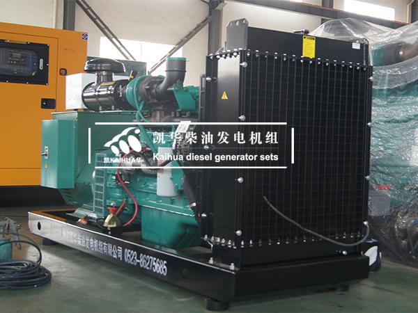 安徽客户一台150KW康明斯发电机组成功出厂 发货现场 第2张