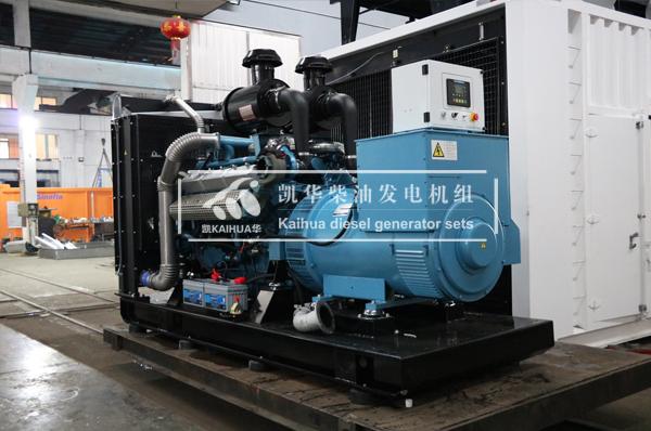 山西房产500KW柴油发电机组成功出厂