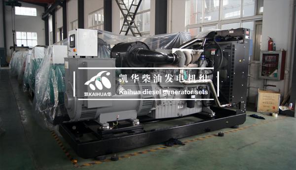 出口苏丹的400KW珀金斯发电机组成功出厂