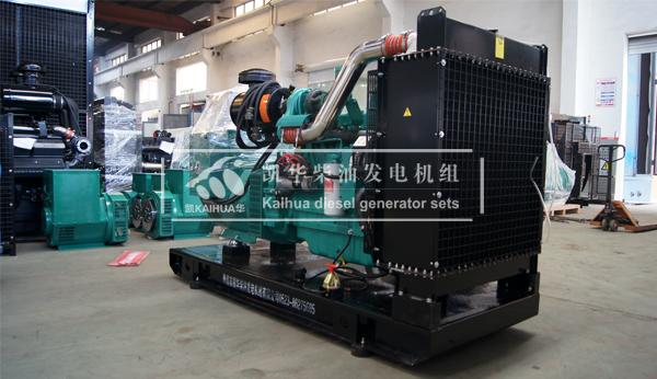 江苏养殖200KW康明斯发电机组成功出厂 发货现场 第2张