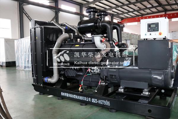 南昌房产500KW上柴发电机组成功出厂 发货现场 第1张