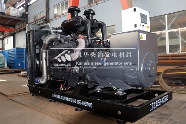 成都水利500KW上柴发电机组成功出厂 发货现场 第1张